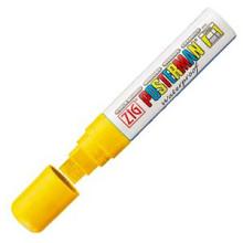 Krijtstift posterman PMA-120 geel dik 7 - 15mm