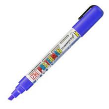 Krijtstift posterman PMA-50 beitelpunt 2-6mm blauw