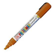 Krijtstift posterman PMA-50 beitelpunt 2-6mm bruin