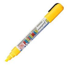 Krijtstift posterman PMA-50 beitelpunt 2-6mm fluor geel