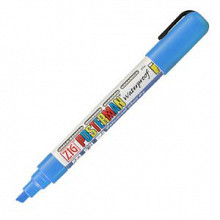 Krijtstift posterman PMA-50 beitelpunt 2-6mm licht blauw
