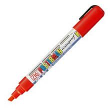 Krijtstift posterman PMA-50 beitelpunt 2-6mm rood