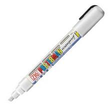 Krijtstift posterman PMA-50 beitelpunt 2-6mm wit