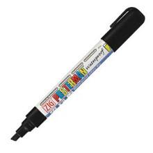 Krijtstift posterman PMA-50 beitelpunt 2-6mm zwart