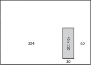 Akte Enveloppe 229x324mm + venster rechts zelfkl. 250 st