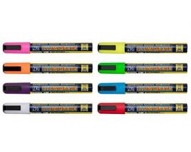 Krijtstift Illumigraph PMA-510 platte punt 2-6mm geel