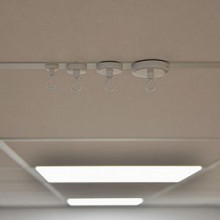 Plafond-magneet met haak wit 16mm 1,5kg