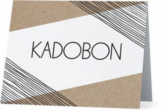 Kadobonnen en -dozen