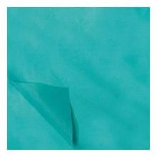 Zijdevloei papier 50x75cm 22gr 100 vel Aquablauw