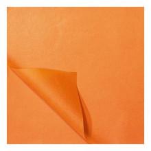 Zijdevloei papier 50x75cm 22gr 100 vel Oranje