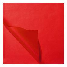 Zijdevloei papier 50x75cm 22gr 100 vel  Rood