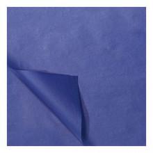 Zijdevloei papier 50x75cm 22gr 100 vel Marine Blauw
