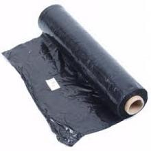 100mtr pol folie 300cm 0.05 zwart
