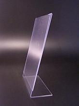 L-standaard acryl A5 staand 148x210mm