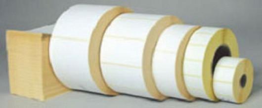 Thermisch etiket 39x25mm wit permanent 2000 stuks