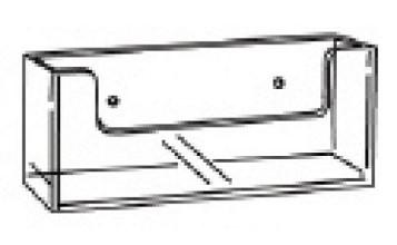 Folderhouder 'wand' A5 landscape