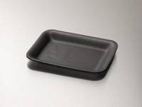Foodtainer schuim nr 70 zwart  1000 stuks