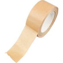 Tape - 50mm x 50mtr PAPIER bruin per stuk