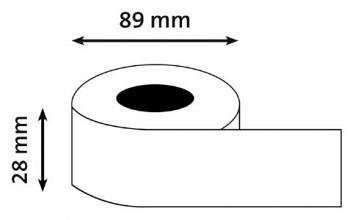 Etiket Dymo 99010 BUDGET labelwriter 89x28mm 130 stuks