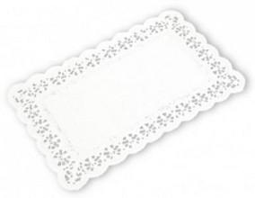 Taartrand papier rechthoek 20x30cm 250stuks