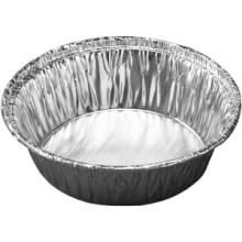 Bakje aluminium rond 80mm x 35mm hoog  110ml  100 stuks