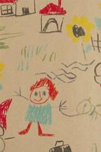 Cadeaupapier 50cm K1150-50 RECYCLED WASCO kids tekeningen