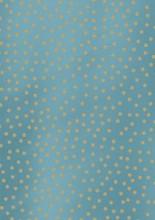 Cadeaupapier 50cm K40571-32 SPOTTED METALLIC LIGHT BLUE
