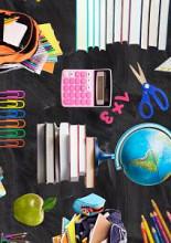 Cadeaupapier 50cm K601885  LOVE SCHOOL