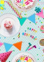 Cadeaupapier 50cm K601886  IT'S A BIRTHDAY PARTY