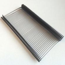 PP textielpins 65mm -ZWART  5000st