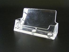 Visitekaartjes standaard acryl horizontaal