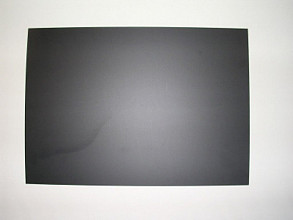 Folie voor jetmaster / stoepbord zwart 70x100cm krijtfolie