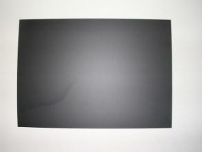 Folie voor jetmaster / stoepbord zwart a1 59x84cm