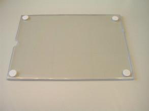 Folderhouder acryl A4 1 blaadje lift met tape