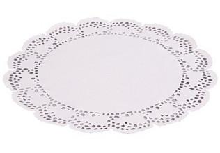 Taartrand papier diameter 28cm 250st