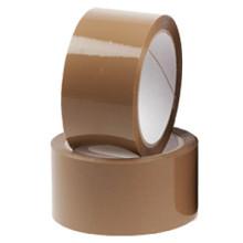 Tape - 50mmx66mtr New Age platinum Bruin per stuk