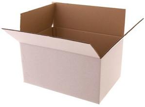 Vouwdozen wit - Pakketdozen
