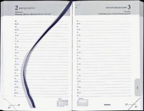 Agenda 2020 Brepols Brefix 1dag/1pagina zwart