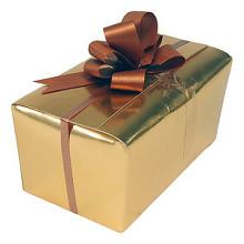 Ballotins 500 gram goud 25 stuks