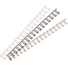 Bindruggen draad 21 rings 8mm wit 100 stuks