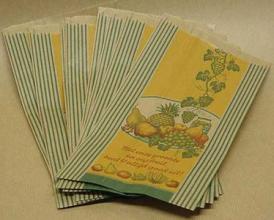 Fruitzakken 40 grams bedrukt RANK 3 pond 1000 stuks