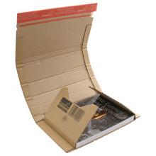 Boekverpakking 328x255x35/80mm varierend hoogte per stuk