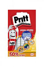 Buddies Pritt dubbelzijdige kleefpad poster blister à 95 stuks 50% extra en glow stickers gratis