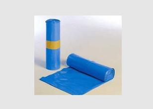 Vuilniszak 65/25x140cm blauw type 70 10 stuks