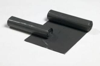 Vuilniszak 60x80cm 50mu - rol 20st grijs