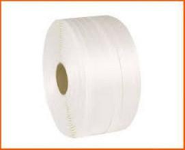 Textielband op rol 13mmx1100 meter wit