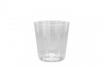 Glas limonade PS  200cc  transparant 25 stuks