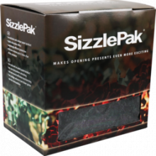 Sizzlepak naturel zwart  1.25 kilo