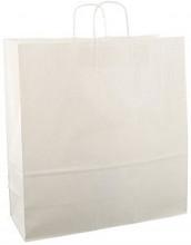 Papieren koordtas 45x17x47cm 50st wit