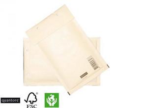 Envelop luchtkussen nr12 B 140x225mm wit 25 stuks (binnenmaat 120x215mm)